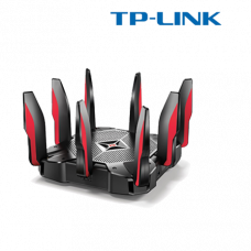 TP-Link Archer C5400X MU-MIMO Tri-Band Gaming Router (AC5400 Tri-Band, 2167Mbps at 5GHz_1+2167Mbps, 1.8GHz quad-core CPU, 9 Gigabit Ports, 2 USB 3.0)