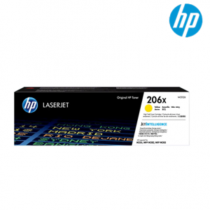 HP 206X Color Toner Cartridge (W2112X, 2450 Pages Yield, For M255/M282)