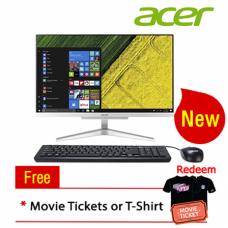 """Acer Aspire C22865-8130W10-12 21.5"""" AIO Desktop PC (i3-8130U, 12GB, 1TB, Intel, W10H)"""