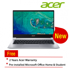 "Acer Swift 3 SF314-55-57T3 14"" Laptop/ Notebook (i5-8265U, 8GB, 512GB, Intel, W10H, Off H&S)"
