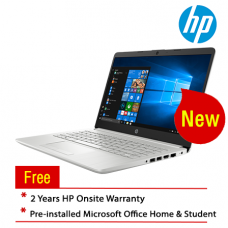 "HP 14s-cf2038TX 14"" Laptop/ Notebook (i5-10210U, 4GB, 512GB, AMD 530, W10H, Off H&S)"
