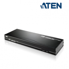 Aten VS0116 VGA Splitter (16 Port, 250MHz, Up to 30 m, Metal)