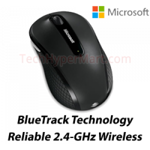 Microsoft 4000 Wireless Mobile Mouse