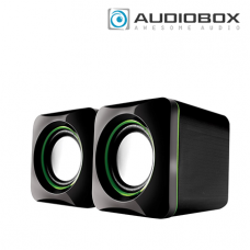 AudioBox U-CUBE Speaker (6Watts, USB Powered 2.0 Speakers, 90Hz – 20KHz, USB 5V / DC 5V)