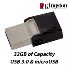 Kingston DataTraveler microDuo 3.0 32GB USB Drives