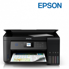 Epson L4160 Wi-Fi Duplex All-in-One Ink Tank Printer (Print, Scan, Copy, WiFi Direct, LCD Duplex, Bordeless)